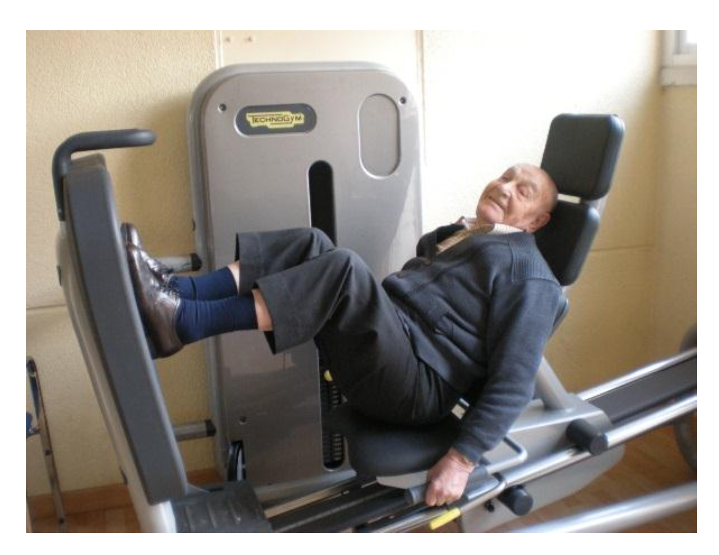 fissac _ nonagenarios _ prensa _ actividad física _ salud