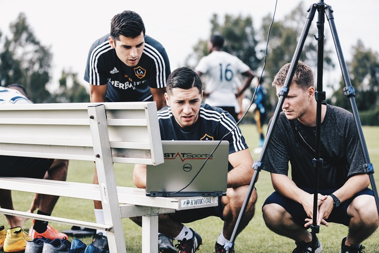 2015 Preseason: LA Galaxy training session at StubHub Center on January 26, 2015 in Carson, CA. Photo by Asano/LA Galaxy.